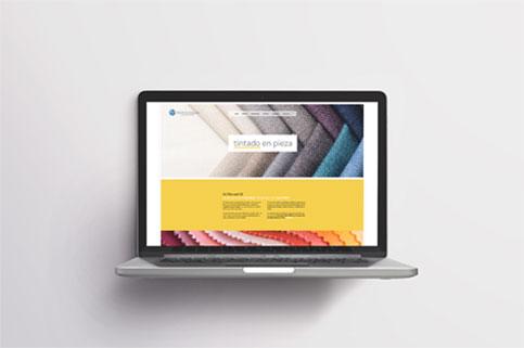 Diseño web corporativa Technocolor