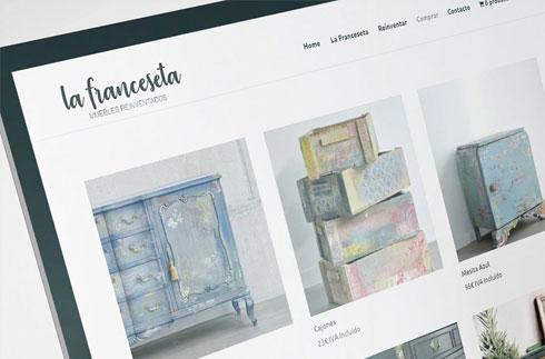 Diseño tienda on line lafranceseta